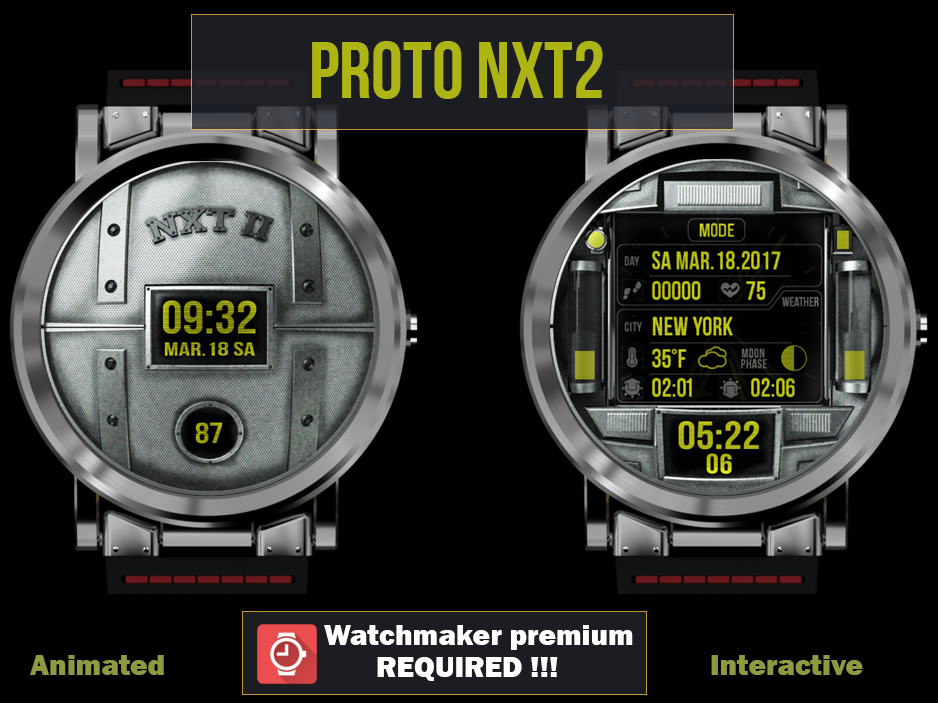 Proto nxt2 watch face android apps on google play for Protos watches