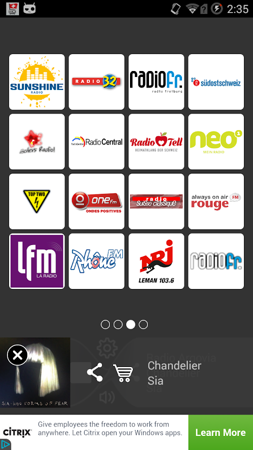 Radio Online - Radio FM Swiss- screenshot