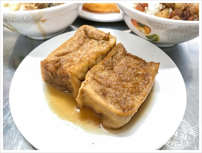 前金肉燥飯菜單油豆腐