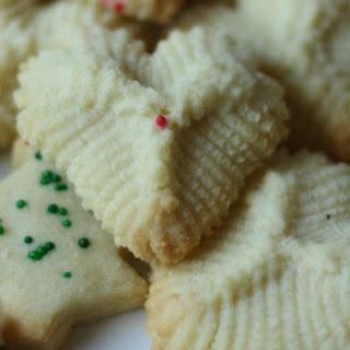 Italian Butter Cookies.