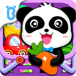 Baby Panda's Supermarket-Halloween Party Shopping Icon