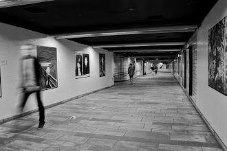 Photo: Day 254 / June 22, 2012 Nationaltheatret Metro Station in Oslo, Norway  ノルウェーの首都オスロの地下鉄駅構内 ナショナルテアートレ駅 駅構内では絵画ギャラリーが開催中。絵画は本物ではなくプリントアウトしたもの。中には、ノルウェー出身のゴッホの「叫び」や「マドンナ」もあります。 #creative366project
