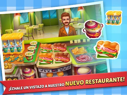Fiebre del patio de comidas: hamburguesa 3 Screenshot