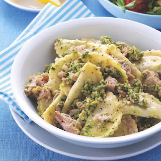 Tuna and Pesto Pasta.
