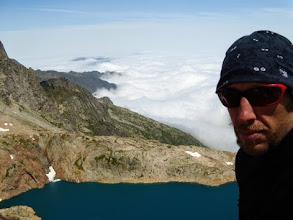 Photo: Lac Glace dal Col du Pluviometre, 2860m.