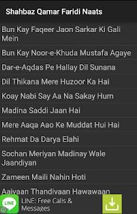 Shahbaz Qamar Faridi All Naats screenshot 1