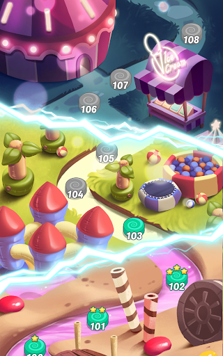 Code Triche Cookie Rush Match 3 APK MOD screenshots 4