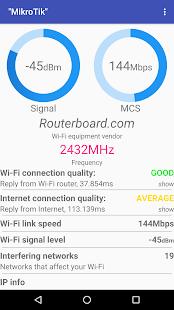 Wi-Fi Heatmap - náhled