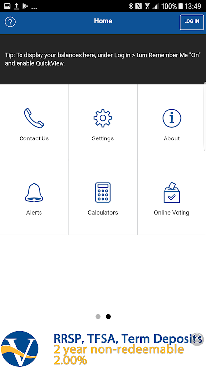 Vantage One Credit Union >> Vantageone Mobile App Android Apps Appagg