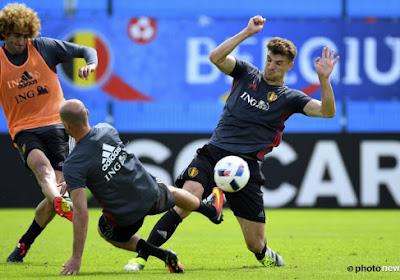 """Carrasco et Meunier se disent prêts pour l'Italie : """"Mais j'estime mes chances de débuter à 10%"""""""