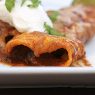 Slow Cooker Vegetarian Enchiladas
