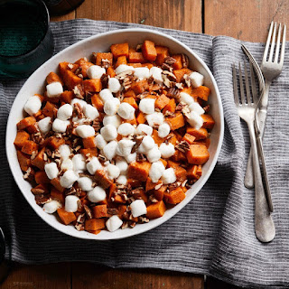 Slow-Cooker Sweet Potato Casserole with Marshmallows.