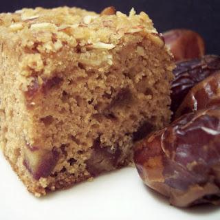 Cardamom-Date Snack Cake.