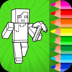 Minecraft Coloring Pages Apk Ultima Versiune 21 Jocuri