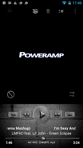 Poweramp Skin Rock