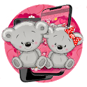 Pink Teddy Bear Lover Theme icon