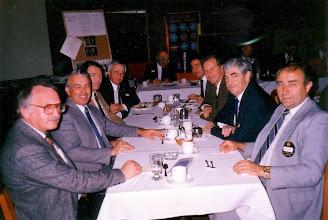 Photo: Mike Tzopa , Charlie Hobbs, Dalton McIntyre, John Dugan, Jake Klassen (distance), Gabriel Laszlo, Mike Acton, Ray Young, Frank Vaculik