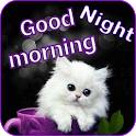 Good Morning - Good Night  Messages Images GIF icon