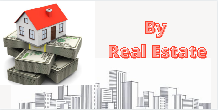 by real estate