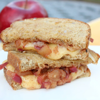 Gouda Grilled Cheese with Apple Bourbon Jam