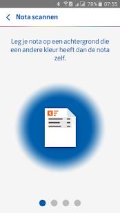 FBTO Zorgdeclaratie app - náhled