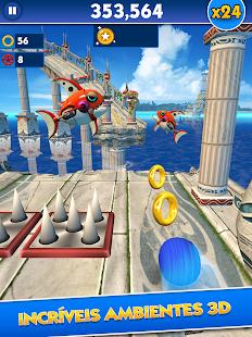 Sonic Dash Android screenshot