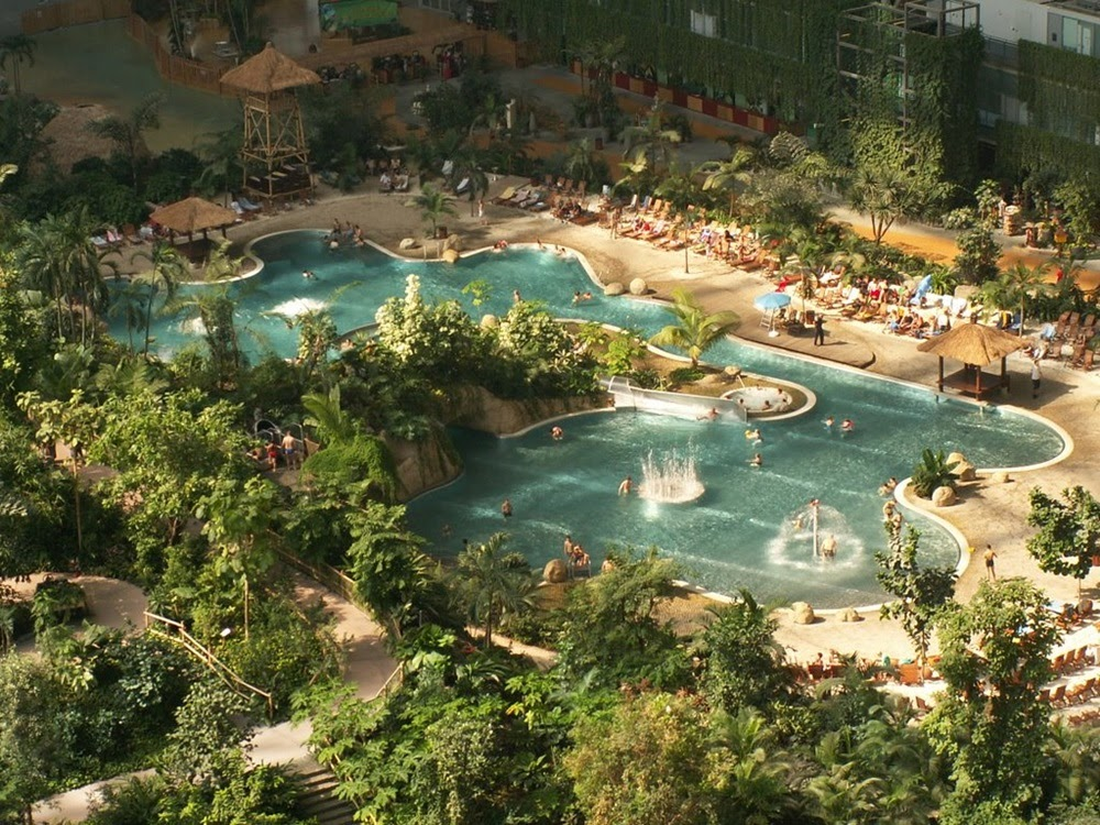 Tropical Island Resort, a maior floresta tropical coberta do mundo