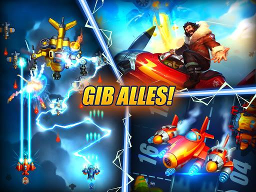 HAWK: Weltraum schießspiele. Flugzeug Schlachten screenshot 11