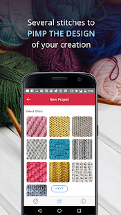 Knit Ingenious, Free Knitting Patterns Row Counter - náhled