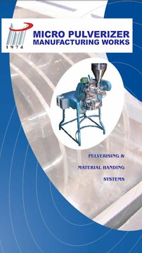 Micro Pulverizer MFG Works