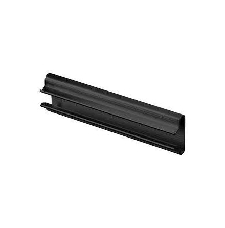 SPÅRSKENA 1200mm SVART PVC
