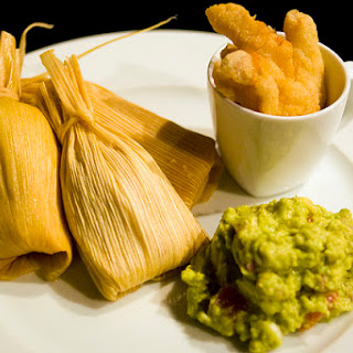 Homemade Pork Tamales.