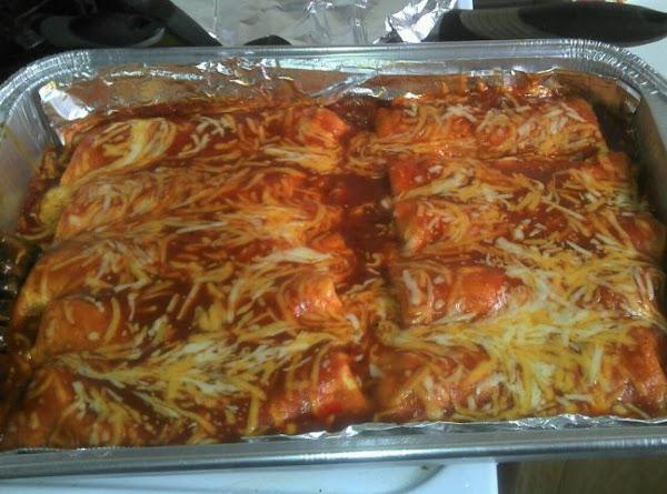 Tasty Turkey And Black Bean Enchiladas Recipe