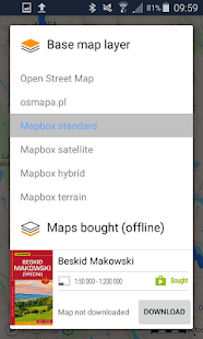 Traseo. Offline maps & trails.- screenshot thumbnail