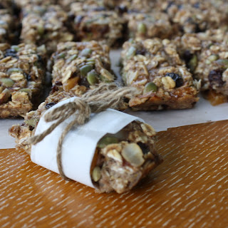 Banana Nut Energy Bars.