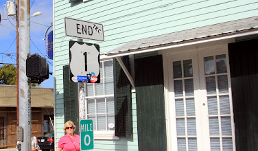 Photo: Headed the other direction, it's the end of US1.