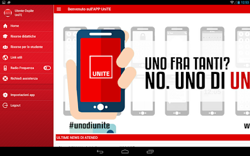 UNITE Mobile- miniatura screenshot