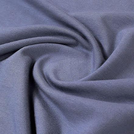 Modaljersey - gråblå