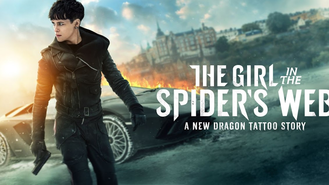 Image: The Girl in the Spider's Web movie poster