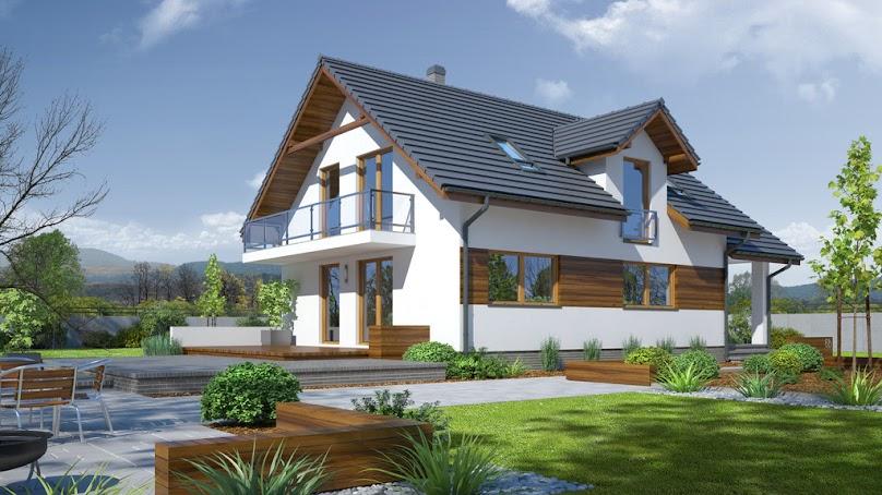 Projekt domu Osina 71