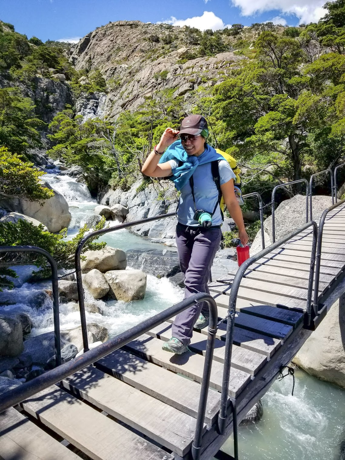 I absolutely loved being a lazy trekker and did the W Trek with just a daypack. Less weight = more fun.
