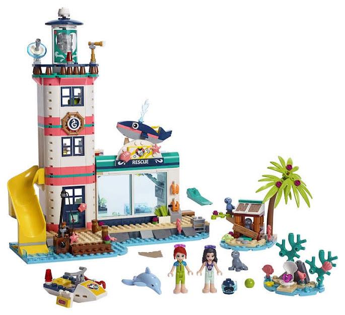 Contenido de Lego® 41380 Centro de Rescate del Faro