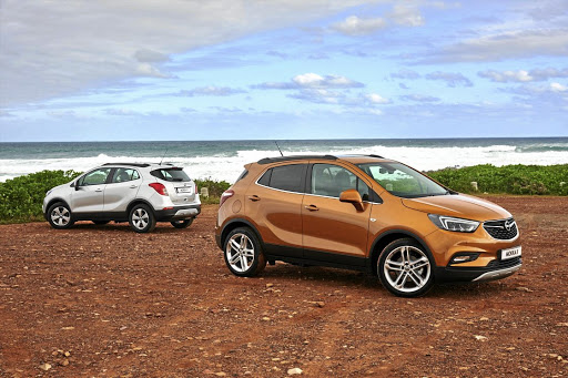 The Mokka has become the Mokka X, complete with pseudo SUV styling.   Picture: QUICKPIC