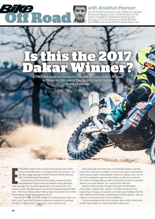 Bike Magazine UK- screenshot
