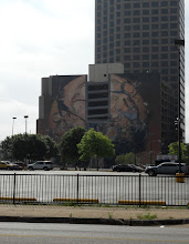 Photo: Cool Mural on Parking Garage