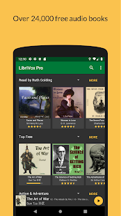 LibriVox Audio Books Screenshot