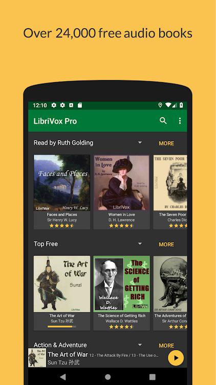 LibriVox Audio Books – (Android Applications) — AppAgg