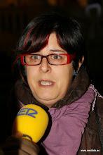Photo: Huesca: 8M 2014 BPG atiende a la Cadena SER