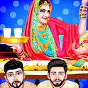 Indian Wedding Girl Honeymoon Love Game icon