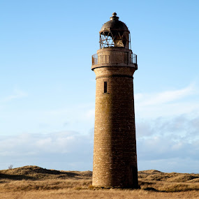 Low Lighthouse, Barry by Iain Cathro - Buildings & Architecture Decaying & Abandoned ( scotland, winter, lighthouse, architecture, landscape, abandoned )